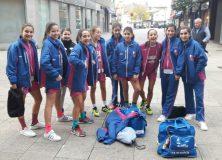 Derrota del preinfantil femenino ante el Estudiantes de Lugo